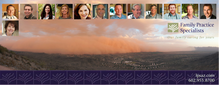Monsoon FPS Cover Photo Arizona Valley Fever: Q&A with Family Practice Specialists
